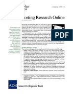 Posting Research Online