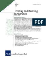 Creating and Running Partnerships