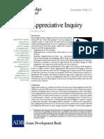 Appreciative Inquiry
