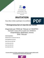 conférence ANAPEC Abdelilah Idrissi Kaitouni