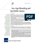 New-Age Branding and the Public Sector