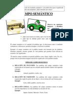 37vo CAMPO SEMÁNTICO
