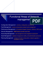 Functional Areas of Network Management