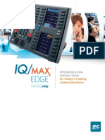 IPC4121 IQMAX Brochure Single