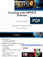 OW05 Teaching Opnet Vh