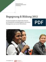 Begegnung Und Bildung 2012 Karin Stock 1330339705729