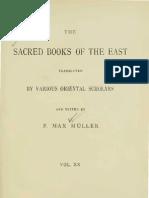 Vinaya Texts - Part III - Sacred Books of the East xx