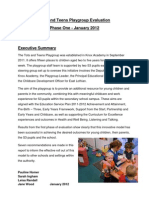 Evaluation Tots and Teens Jan 2012