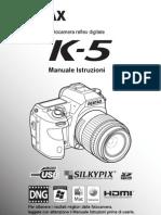 Manuale Ita Pentax k5