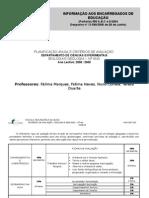 CritÉrios AvaliaÇÃo Biogeo 0708