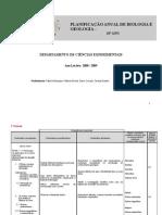 Planificação Anual Final 10ºano 2007- 2008