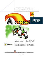 Manual rápido para usuarios de Access