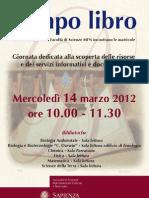 Locandina BIBLIO2012