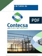 Catálogo de Cables de Energía CONTECSA Rev0 011209