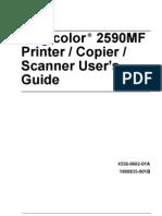 Magicolor2590MFCopier Printer Scanner User Manual