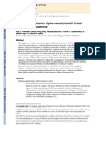 Epidemiologic Evaluation of Pharmaceuticals With Limited Evidence of Carcinogenicity