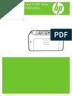 Hp 1005 User Manual