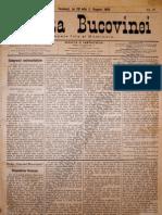 Gazeta Bucovinei #57 Joi 20 Iulie (1 August) 1895