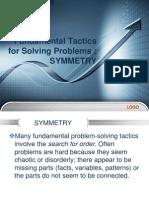 Fundamental Tactics for Solving Problems