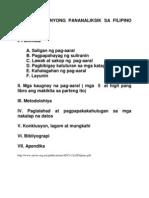 Pormat Ng Inyong Pananaliksik Sa Filipino 02