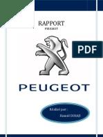 Rapport Peugeot