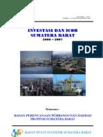 ICOR Sumbar 2000-2007
