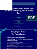Unit 04 Police- History, Structure and Role4