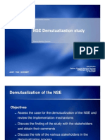 NSE Demutualization Study - Stakeholders' Workshop 1 (2) [Compatibility Mode]