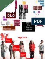 Uniqlo Group Presentation