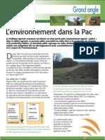 L'environnement dans la PAC (Aficar )