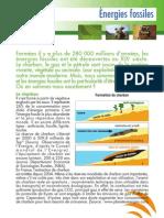 Energies Fossiles et alternatives ( Aficar )