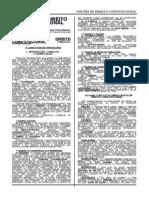 NOCOES DE DIREITO CONSTITUCIONAL - ÁREA ADMINISTRATIVA