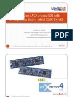 How to Use LPCXpresso IDE with LPCXpresso Board ARM CORTEX M3