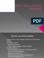 Position and Motion Sensors