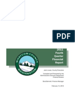 Whatcom County Financial Report - 2011 4th Qtr