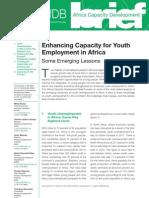 Africa Capacity Development Brief_Timothy Mahea