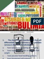 Bulimia Questions