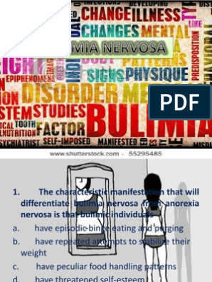 bulimia nervosa dating