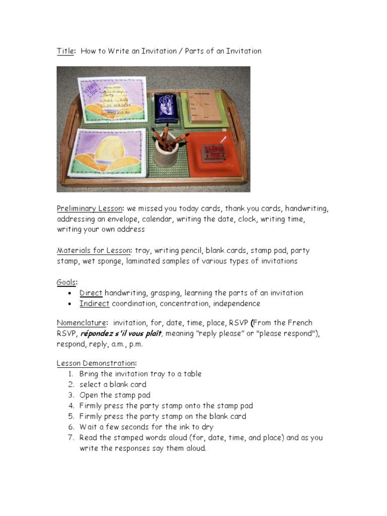 How to write an invitation 16 stopboris Choice Image