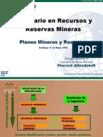 Planes Mineros y Reservas - Jorge Amira