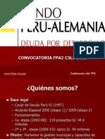 Presentacion Convocatoria C3L1-2012 Martes 06