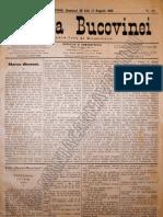 Gazeta Bucovinei #60 Duminica 30 Iulie (11 August) 1895