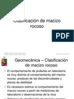 02-Clasificacion Geomec de Rocas