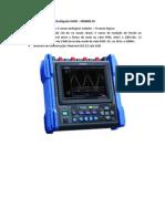 descrição oscilografo HIOKI