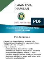 GDS-K7 Penilaian Usia Gestasi