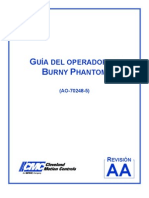 Manual Operador Burny Phantom