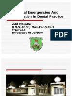 Medical Emergencies and Resuscitations in Dental Practice
