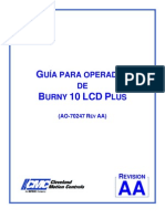 Manual Operador Burny10