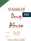 10 Kinds of Drug Abuse