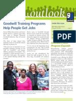 Goodwill Outlook Spring Newsletter